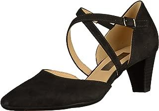 Gabor Women's Callow Modern Cross Strap Court Shoes