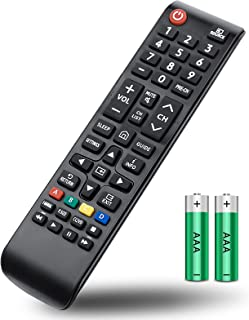 EWO'S Universal Remote Control for All Samsung-TV-Remote LED QLED UHD SUHD HDR LCD HDTV 4K 3D Curved Plasma Smart TVs