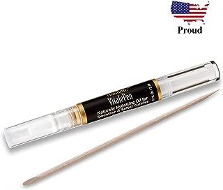 Cuticle Oil Pen & Nail Strengthener - Nail Oil & Nail Guardian Serum - Cuticle Softener Oil Pens with Vitamins A & E - Natural Nails Treatment - 1 Pen - Magique VitalePen .07oz