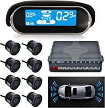 $69 » AISHFP Car Parking Sensor, Wireless Parking Kit Automatic Alarm Assistance System LCD Display Four Voice Switchable with 8...