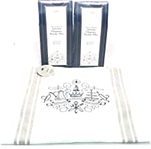 Downton Abbey Striped Crest Apron and Downton Abbey Traditional Organic Scone Mix, Pack of 2