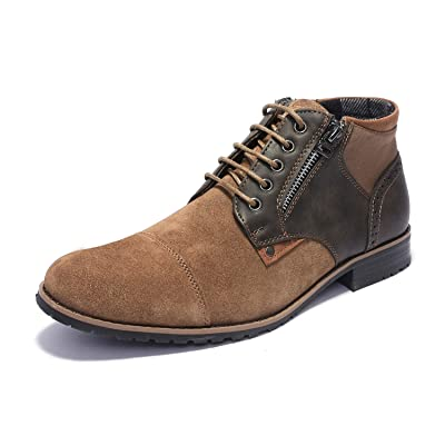 Bruno Marc Men's Suede Leather boots