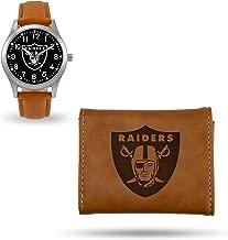 Rico Industries Raiders Sparo Brown Watch and Wallet Set