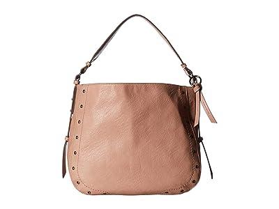 Jessica Simpson Delfina Hobo (Pink Salt) Handbags