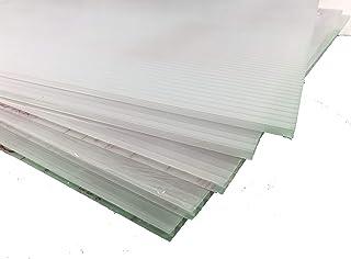 IRONLUX Pack de 10 Placas de Policarbonato Celular Compacto
