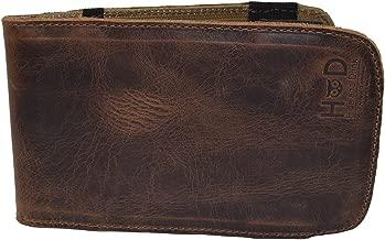 Hide & Drink Rustic Leather & Waxed Canvas Golf Performance Scorecard Holder Handmade Fatigue