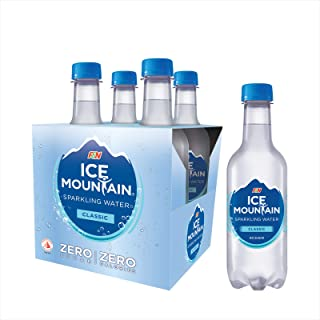 Ice Mountain Sparkling Water, Classic, 350ml (Pack of 4)