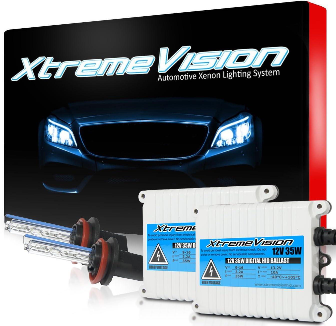 XtremeVision Max 83% OFF 35W AC Xenon HID shop Bundle Slim 1 Pai with Ballast