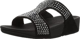 FitFlop Womens Glitzie Slide Sandal