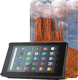 Etui dziewczęce Kindle Peaks Of Rock Formations In The Monument Kindle Fire 7 etui 9. generacji 2019 do tabletu Fire 7 (9....
