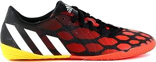 adidas Predator Absolado Instinct IN Soccer Sneaker Shoe - Black/White/Red - Mens - 9
