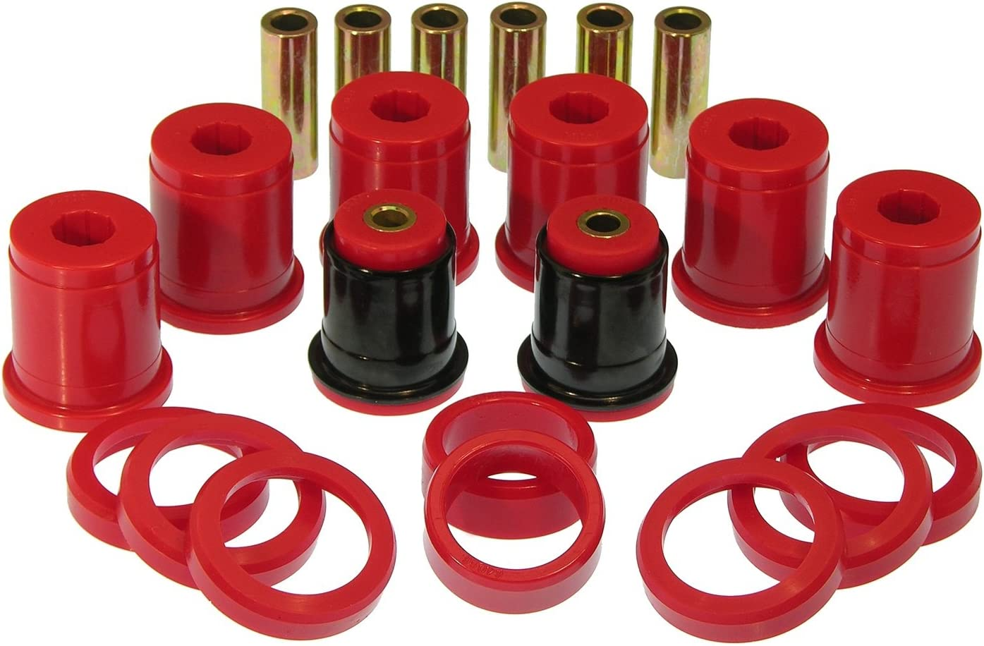 Prothane 7-312 Red Directly managed store Rear Bushing Safety and trust Arm Control Kit