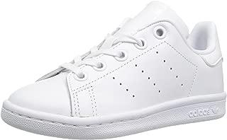 adidas Originals Unisex Stan Smith C Sneaker, White, 10.5 Medium US Little Kid