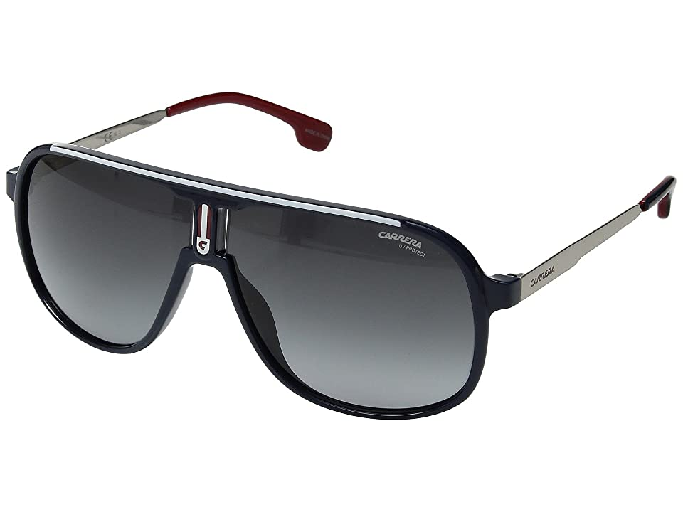 Carrera Carrera 1007/S (Blue with Dark Gray Gradient Lens) Sport Sunglasses
