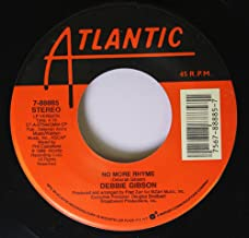 DEBBIE GIBSON 45 RPM No More Rhyme / Over The Wall