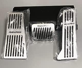 マツダ MAZDASPEED アルミペダル 工具不要 3点フルセット CX-3 DK系 CX-5 KE KF系 CX-8 KG系 デミオ DJ系 アクセラ BM BY系 アテンザ GJ系 mazda6