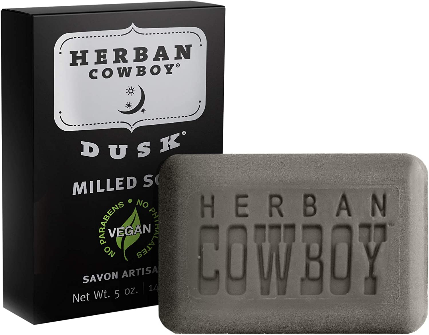 Herban Cowboy Milled Bar Challenge the lowest price of Japan ☆ Soap Dusk – 5 Low price Pack Men 6 oz of