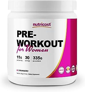 Sponsored Ad - Nutricost Pre-Workout Powder for Women 30 Serv (Strawberry)