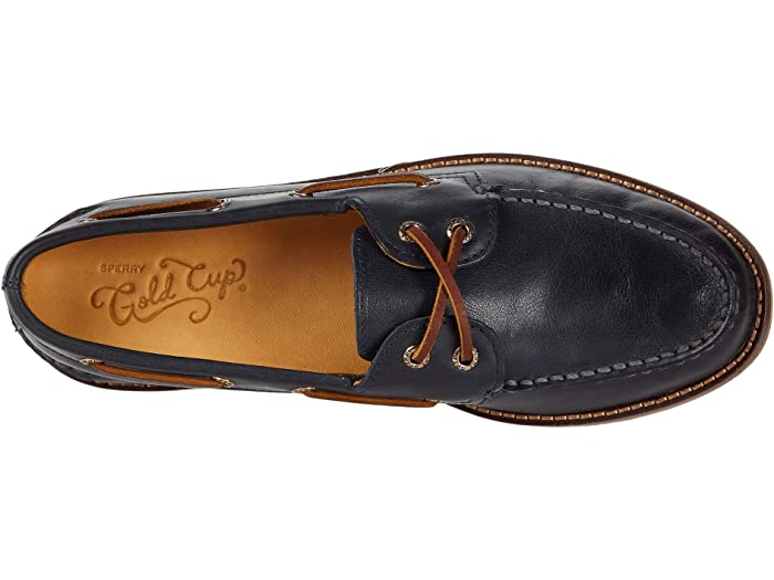 Sperry Gold Cup A/O 2-Eye Leather Sole