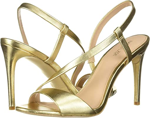 Light Gold Metallic Nappa