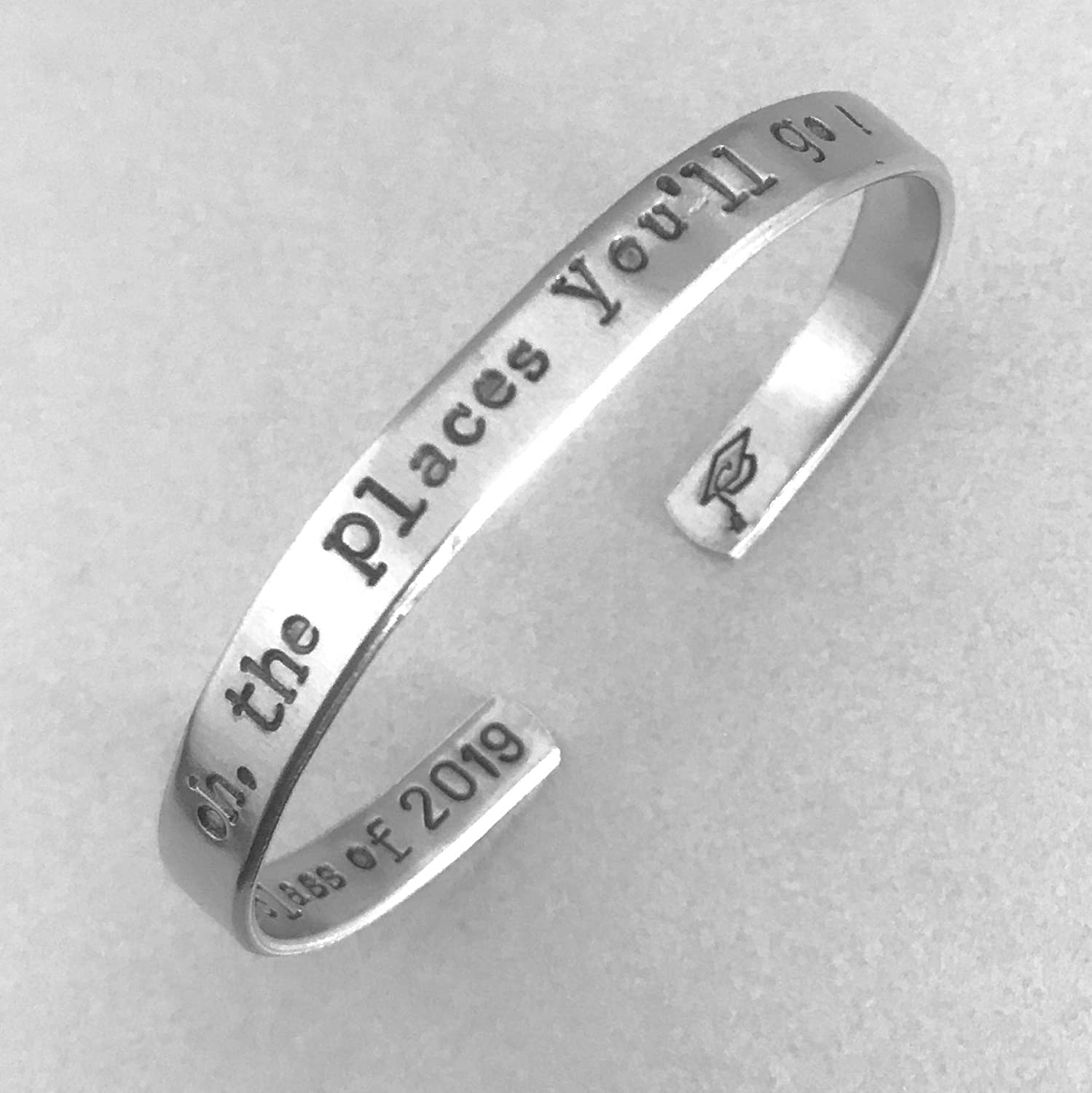 Graduation Gift -Oh the Places You'll 201 Go Max 71% OFF bracelet New item of - Class