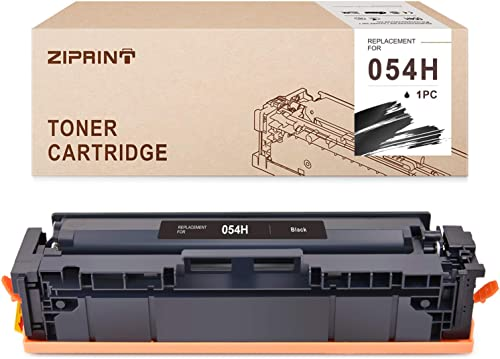 discount ZIPRINT Compatible Toner Cartridge Replacement for Canon 054H online 054 use with LBP620C LBP622Cdw Series popular Color imageCLASS MF640C MF642Cdw MF644Cdw Series Printer (Black,1 Pack) outlet online sale