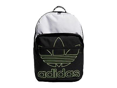 adidas Originals Originals Trefoil Pocket Backpack (White/Black) Backpack Bags