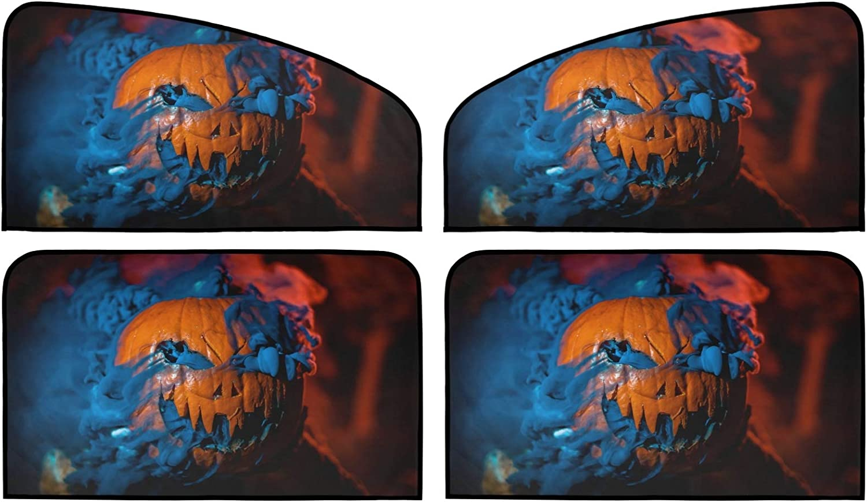 Halloween Oklahoma City Mall Pumpkin Car Sun Shade Be super welcome Insulation Pack Univers 4 Summer
