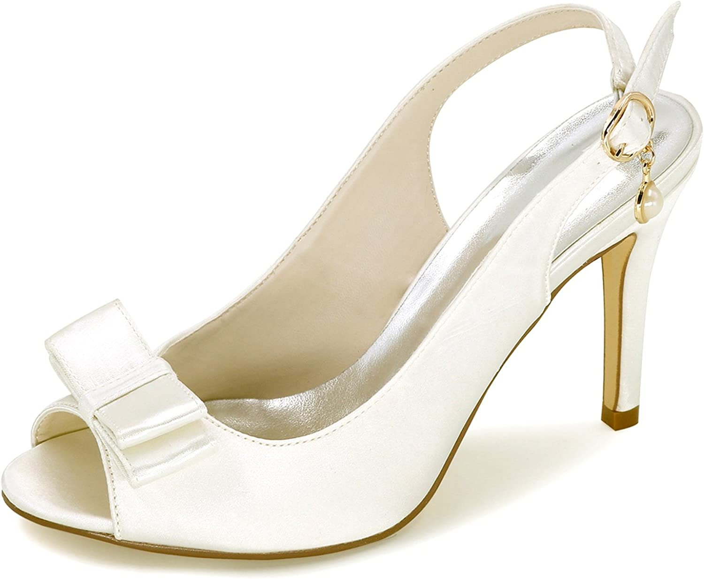 Elobaby Frauen Hochzeit Schuhe Schnalle Brautjungfer Prom Abend High High High Heels Chunky Fashion Herbst Plattform (9 cm Absatz)  af5a5d