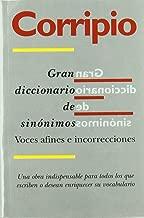Gran Diccionario De Sinonimos/Dictionary of Spanish Synonyms