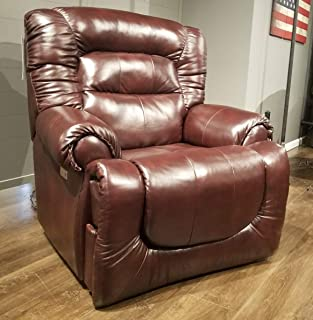 Southern Motion All Star Big and Tall Man (Leather/Vinyl) Power Recliner with Power Headrest Weight Capacity 450 Lbs. Ext. Length. 79