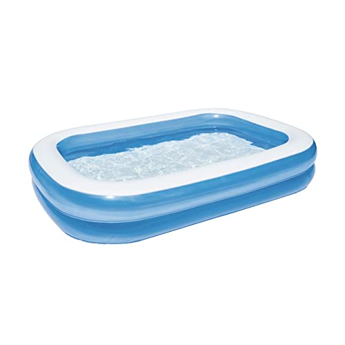 "Bestway 54006 - Planschbecken 262x175x50cm ""Blue Rectangular Family Pool"""