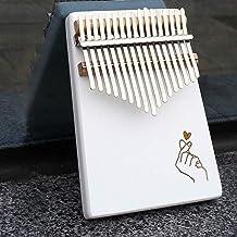 MAODOXIANG Thumb Pianos Kalimba 17 Key Thumb Piano Solid Wooden Pine Beginners Portable Finger Piano Musical Instrument wi...