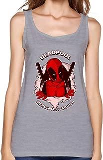 TBTJ Women's Deadpool New Mutants Wade Wilson Tank Top
