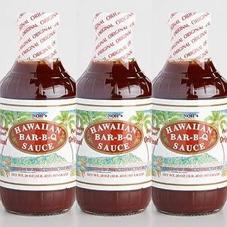 NOH Hawaiian BBQ Sauce (3 Bottles)