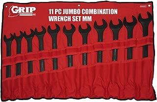Grip 11 pc Jumbo Combo Wrench Set MM