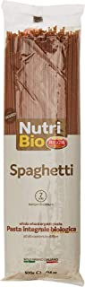 REGGIA Nutri Bio Spaghetti Whole Wheat Organic Pasta, 500 gm