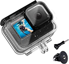 60m/196FT Waterproof Housing Case for Gopro Hero 9 Black, ULANZI G9-7 Protective Housing Frame Underwater Diving Shell wit...
