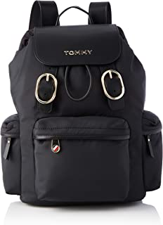 Tommy Hilfiger Recycled Nylon Backpack, Sacs Femme, Taille Unique