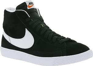 Nike Men's Blazer MID PRM Black/White 429988-006 (Size: 12)