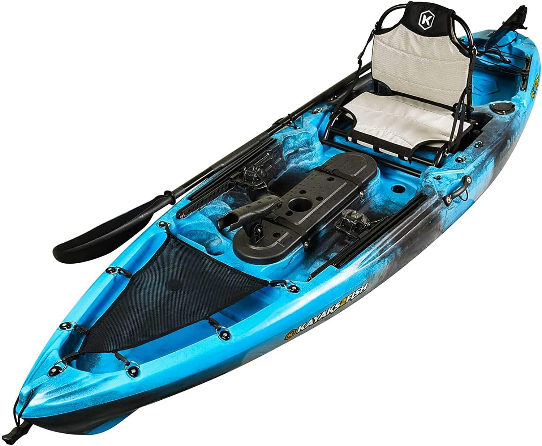 Melbourne 3m NEXTGEN 10 Pro Fishing Kayak Package  blueee Lagoon