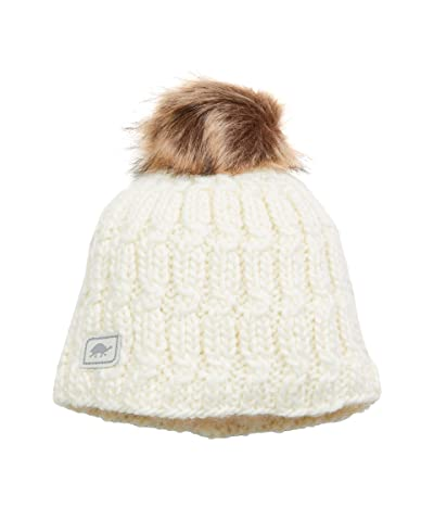 Turtle Fur Merino Wool Fifi (White) Knit Hats