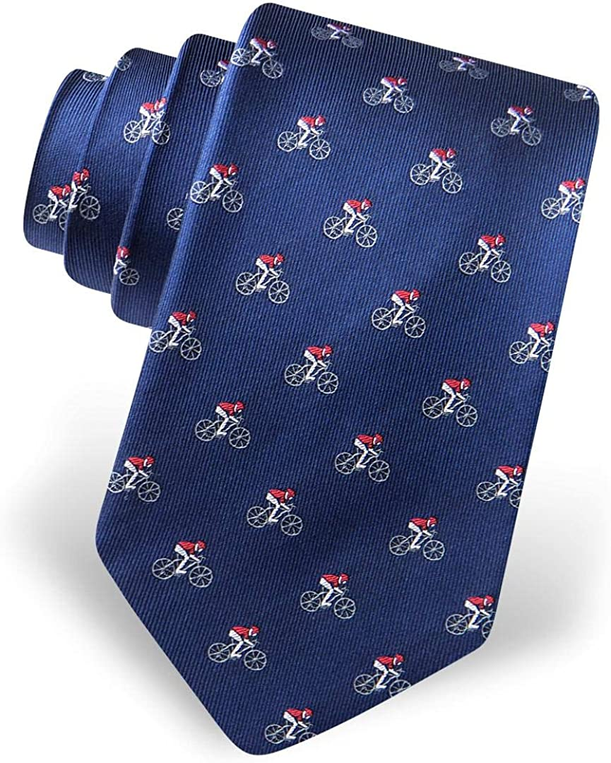 Men's 100% Silk 5%OFF The Spin Bike お歳暮 Riders Bicycle Riding Red Cycling