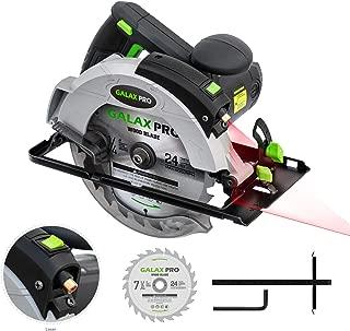 Circular Saw, 12A 5500RPM Electric Saw GALAX PRO Corded Circular Saw with 7-1/4