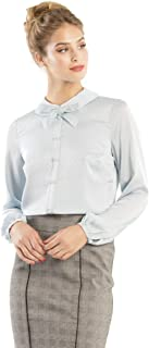 Review Women's Sweet Like Sugar Blouse Ice Blue