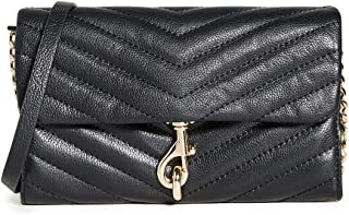 Rebecca Minkoff Edie Wallet On A Chain, BLACK