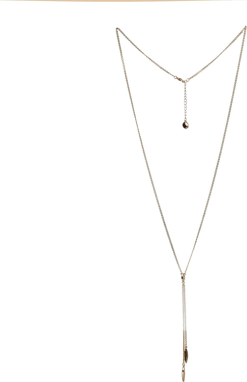 BCBG Generation Crystal Y-Shaped Necklace