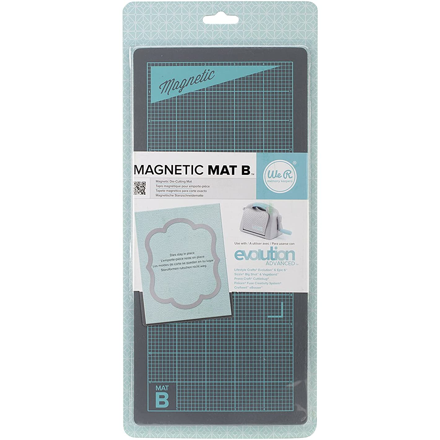 We R Memory Keepers Magnetic Mat, Evolution Advanced