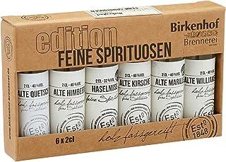 BIRKENHOF Brennerei | Tasting-Set Edition: Feine Spirituosen - Alte Sorten im Holzfass gereift | 6 x 0,02l