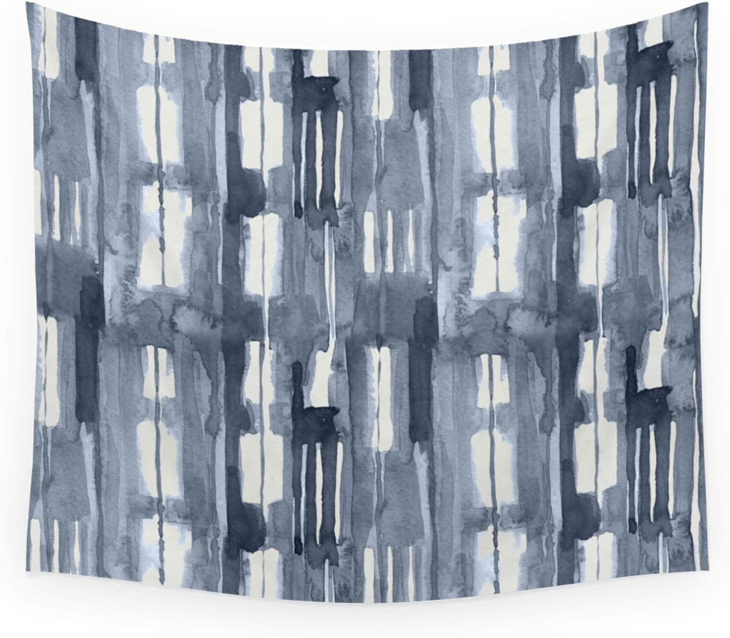Society6 Simply Shibori Lines in Indigo Si Phoenix Mall Lunar Blue On Opening large release sale by Gray